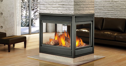 Natural Vent Fireplace